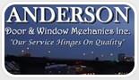 Anderson Door and Window Mechanics